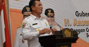 Inilah Pesan Gubernur Kepri Untuk Camat, Lurah dan Kepala Desa di Karimun