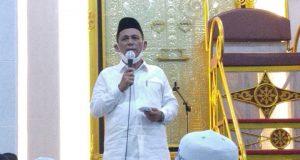 Safari Ramadhan Di Dabo Singkep, Gubernur Ingatkan Pentingnya Vaksinasi Covid 19
