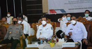 Di Karimun, Gubernur Kepri Dorong Pencapaian Target Vaksinasi