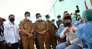 Gubernur Kepri Canangkan Vaksinasi Bagi Remaja Usia 12-17 Tahun se Kepri di Natuna