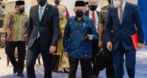 GTF 2021 Resmi Dibuka, Wapres Ma'ruf Amin : Pentingnya Pariwisata Halal Global
