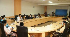 Dampak Pertambangan Di Lingga, Sekdaprov Kepri Terima Audiensi IMKL Tanjungpinang