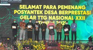 Produk Ulat Maggot Hantarkan Provinsi Kepri Raih Penghargaan Lomba TTG Tingkat Nasional