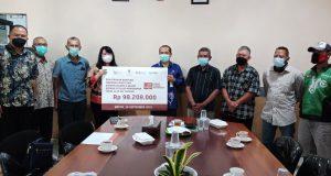 Pembagian CSR Sempena Peringatan HUT Pasar Modal ke-44 dan HUT Palang Merah Indonesia ke-76