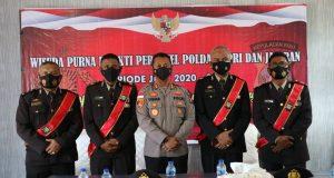 Kapolres Bintan Lepas 5 Personil Yang Purna Tugas