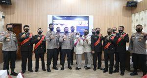 13 Personil Polres Tanjungpinang Wisuda Purna Bhakti